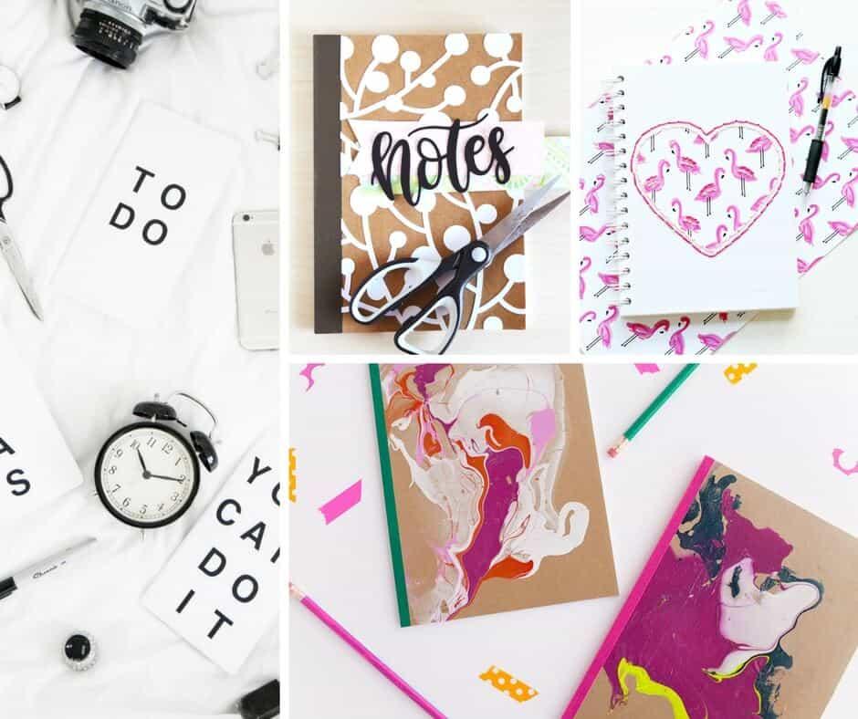 20 ideas for diy notebooks