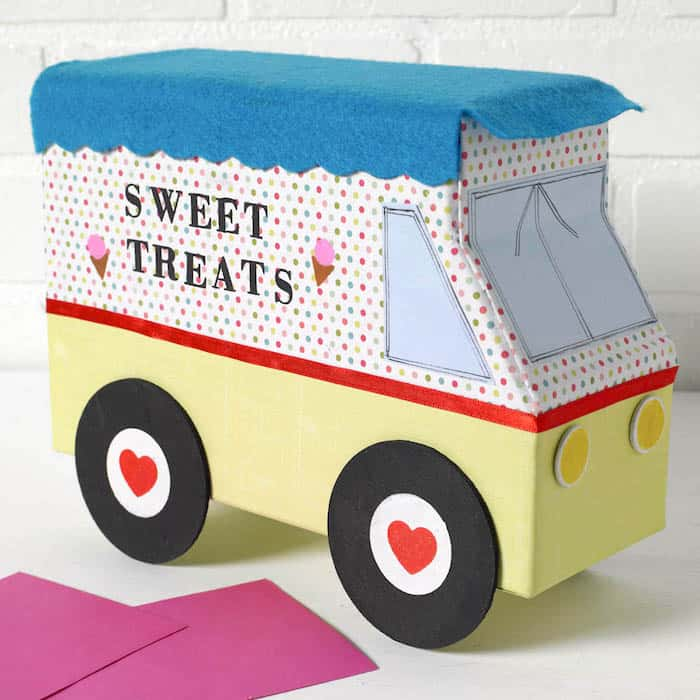 Ice Cream Truck Valentine's Day Box
