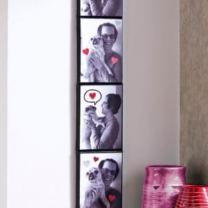 Photo booth simple canvas art