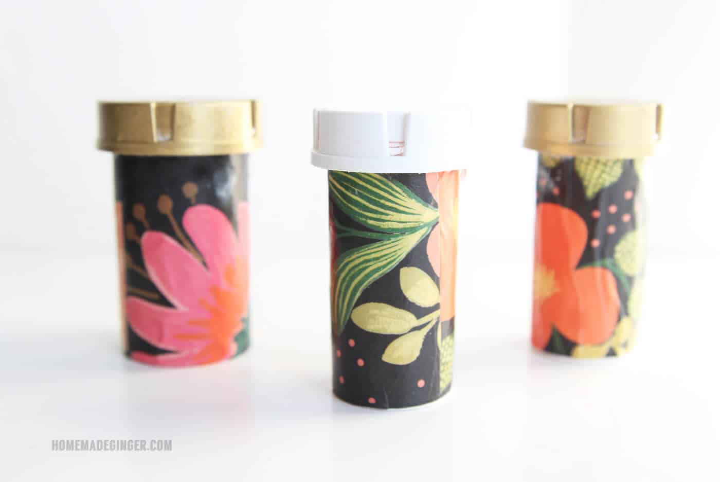 If you have a giant purse, I have a solution to losing things in the black hole - recycle pill containers into organizers! These are so easy to make.
