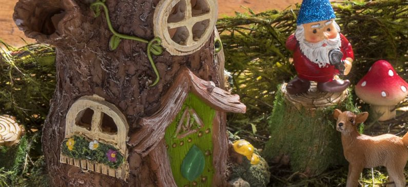 Make a magical desktop fairy garden