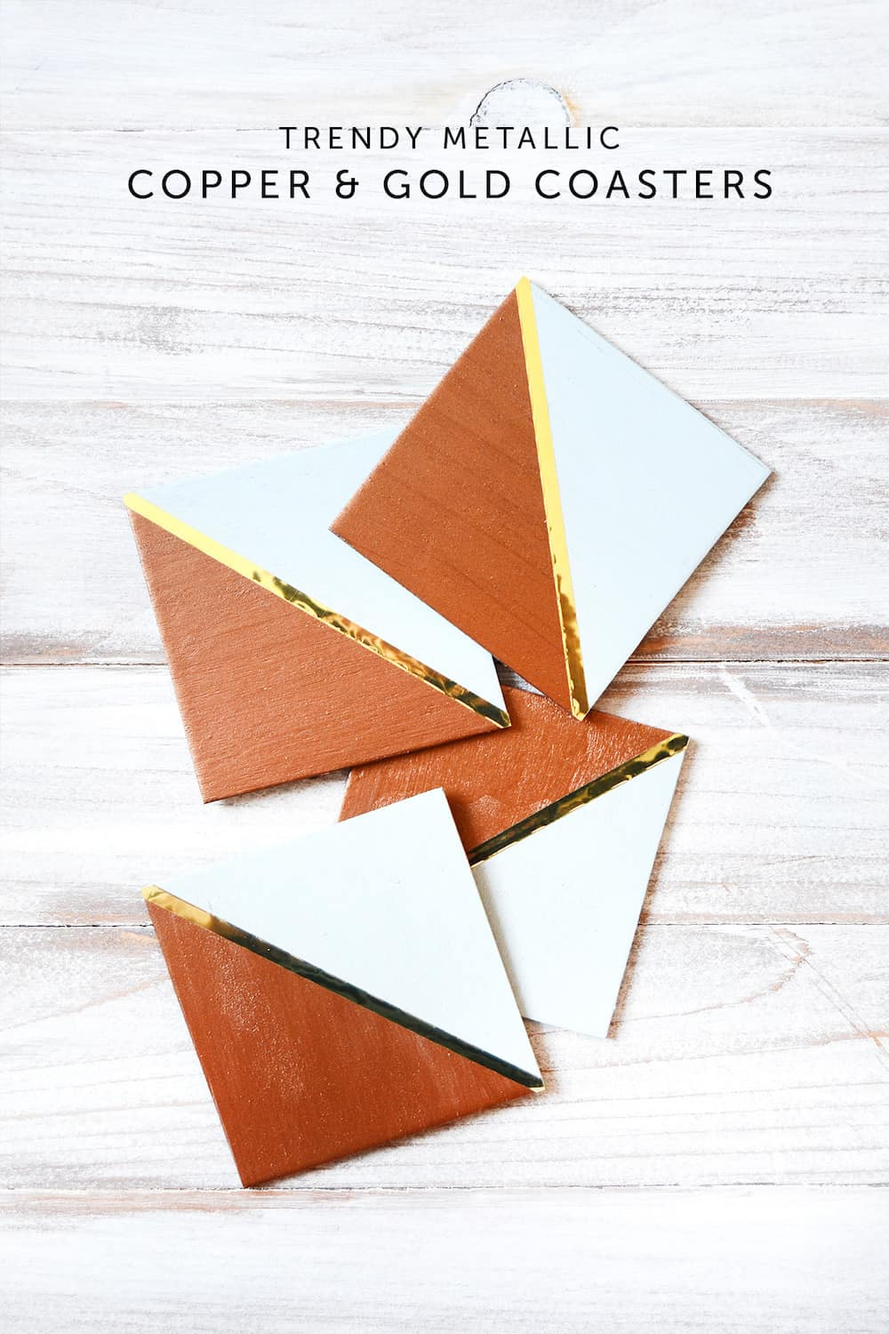 How to make copper coasters on a budget