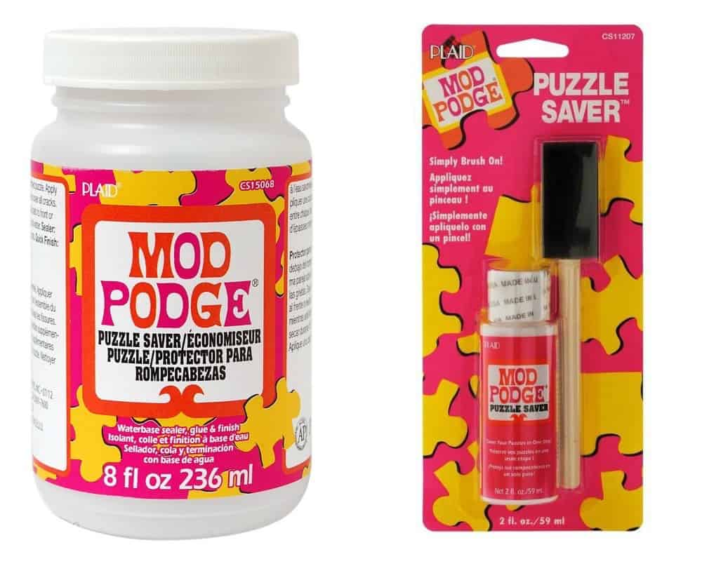 How to Use Puzzle Glue: Mod Podge Puzzle Saver - Mod Podge Rocks