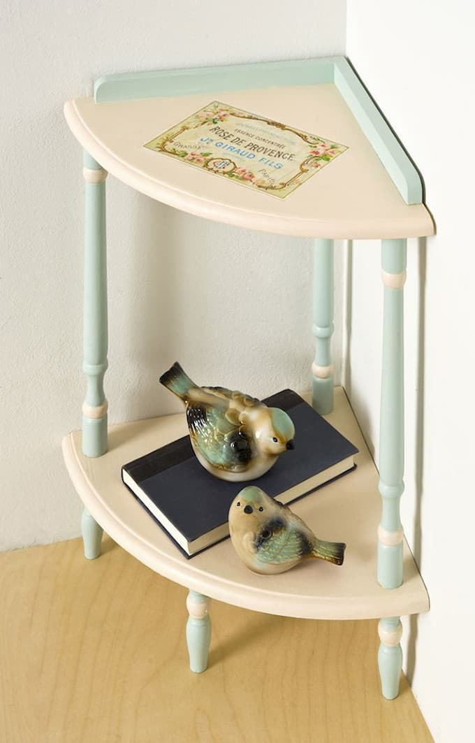 upcycled furniture: vintage photo transfer table - mod podge rocks