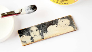 DIY Photo Keychain for Mother's Day