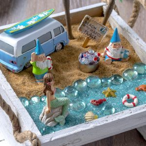 How to make a beach fairy garden
