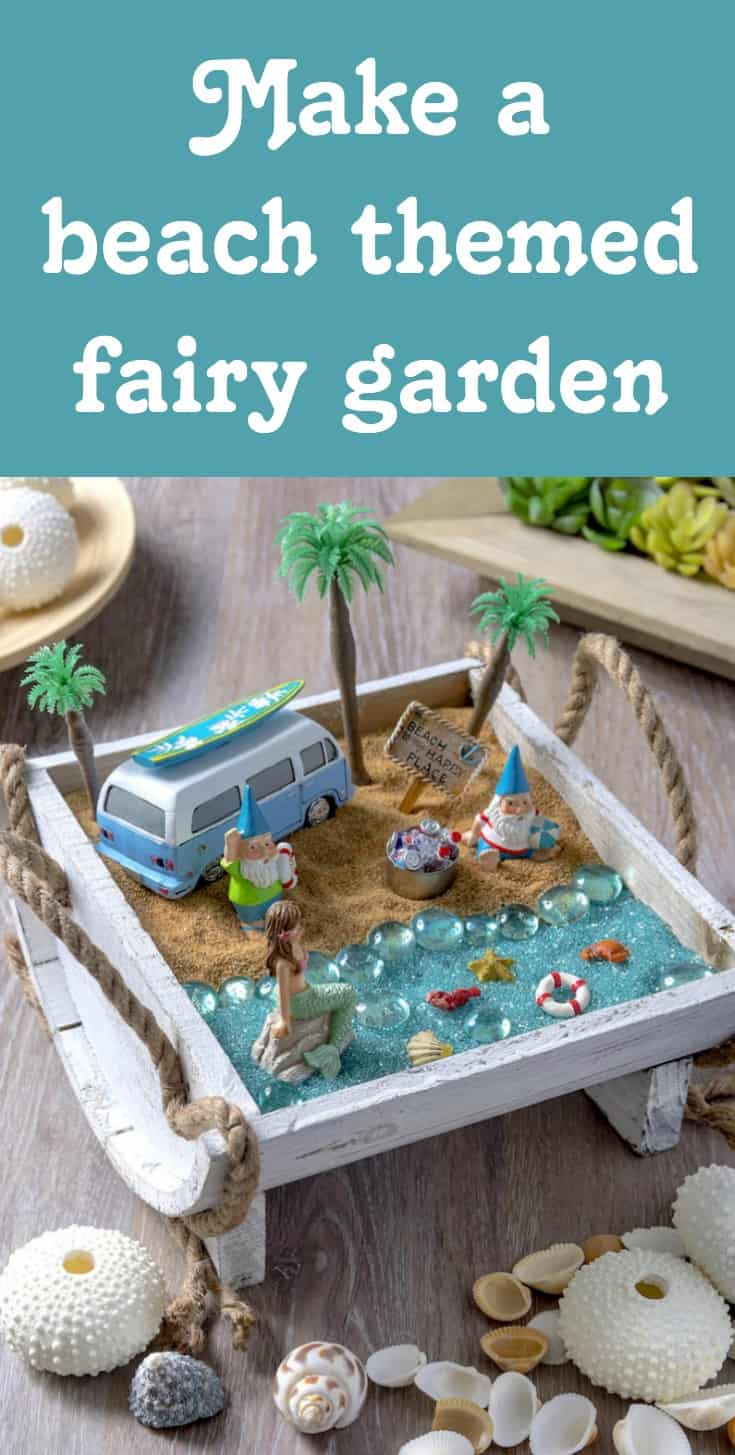 Great Create Your Own Beach Fairy Garden And Bring A Sense Of Seaside Enchantment  To Your Home