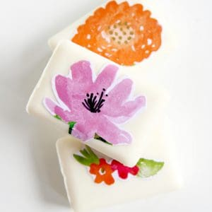 How to make decoupage soap with Mod Podg...