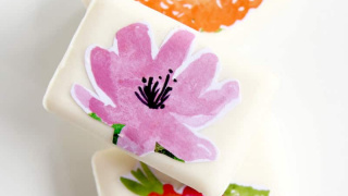 How to make Decoupage Soap with Mod Podge