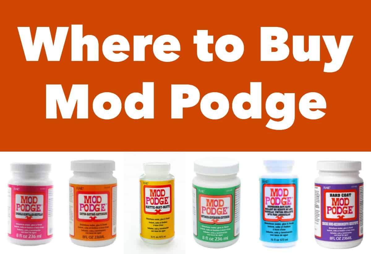 Are you wondering where to buy Mod Podge in stores and online? This is your guide for retailers - with formula and pricing information.