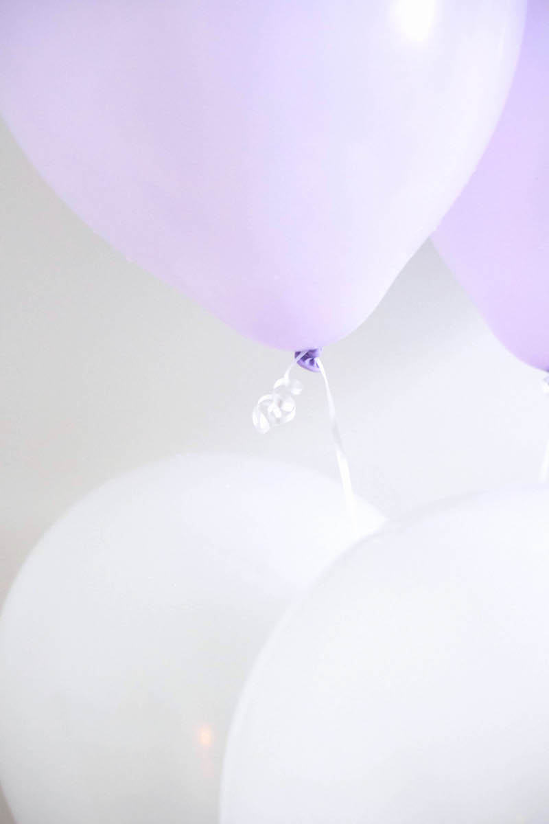 how to make confetti balloons