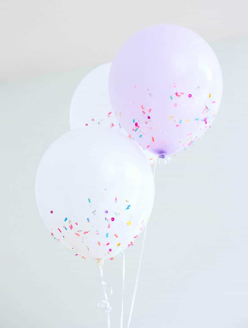 diy party balloons