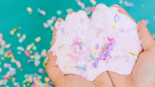 Mod Podge Confetti Slime (without Borax!)