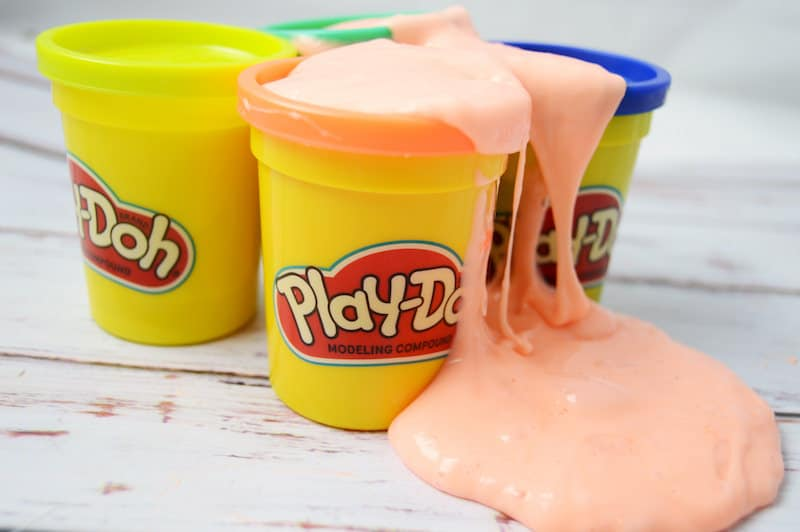 Play Doh Slime