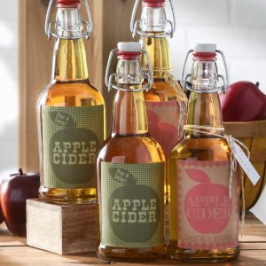 Fall apple cider gifts with free printable