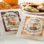 Celebrate autumn with these fun and sweet gifts for neighbors! They are so easy to assemble, and everyone will love them. Get free printables, too!