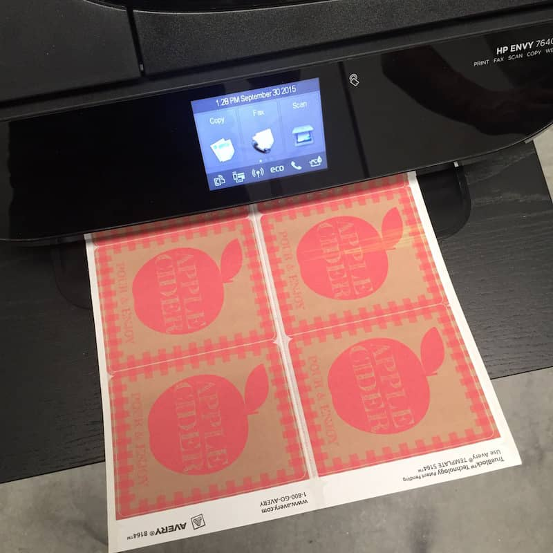 Printing out fall printables