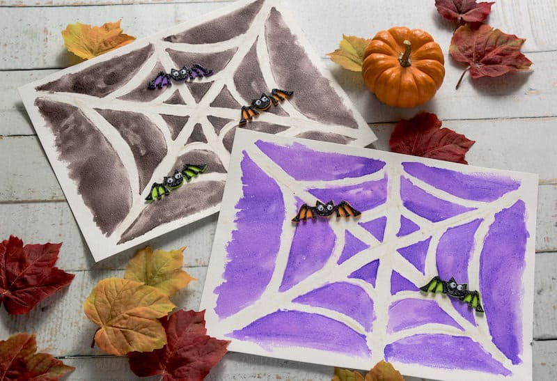 Easy Halloween Crafts for Kids: Sugar Drawings