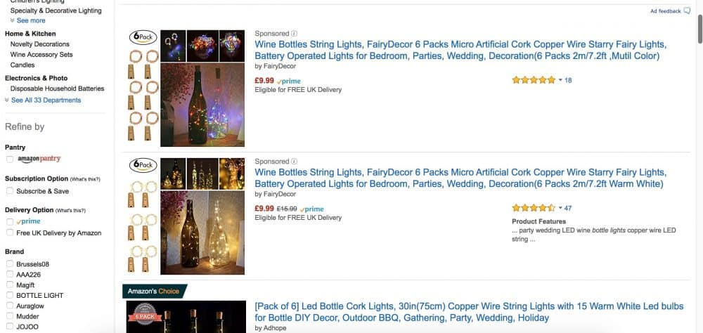 Wine Bottle Lights Where To Get The Best Amp Cheapest