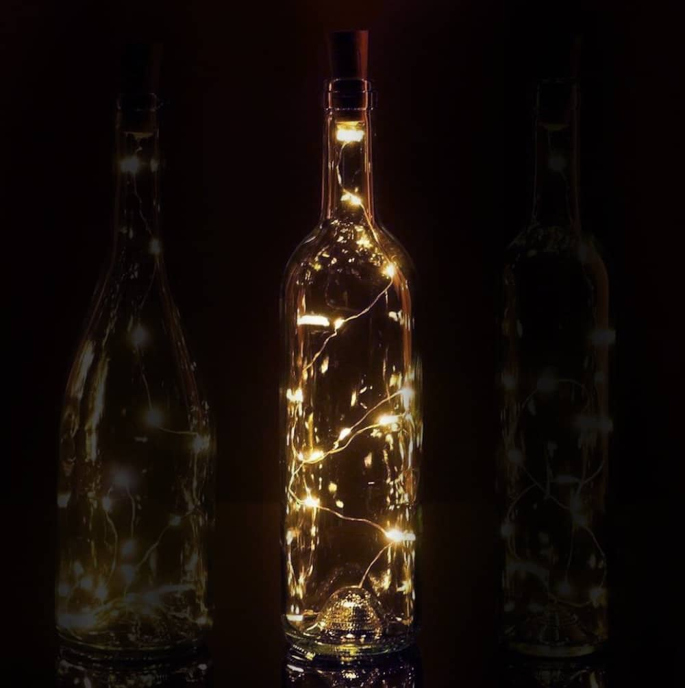 Battery Operated String Lights At Michaels : Where to get the best & cheapest wine bottle lights - Mod Podge Rocks
