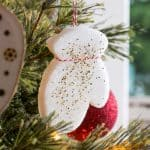 These handmade Christmas ornaments are made with a basic kitchen ingredient - sugar! Learn how to do this craft with your kids. So fun and easy!