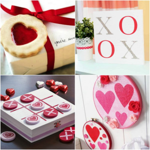 Mod Podge Valentine's Day crafts