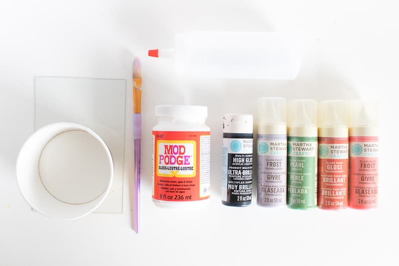 Easy Fake Stained Glass Supplies