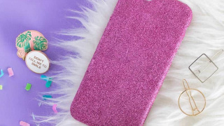 Make a Glitter DIY Phone Case in Four Easy Steps!