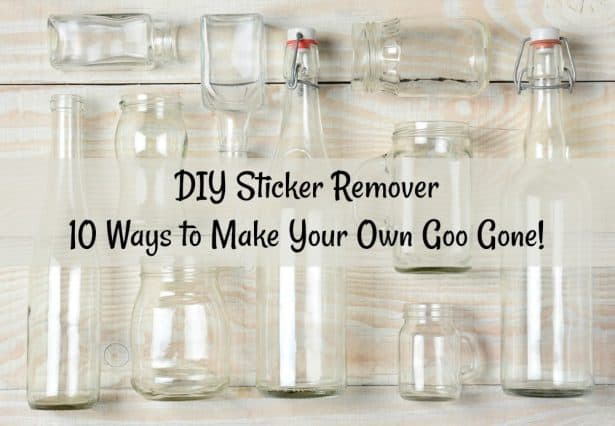 DIY sticker remover