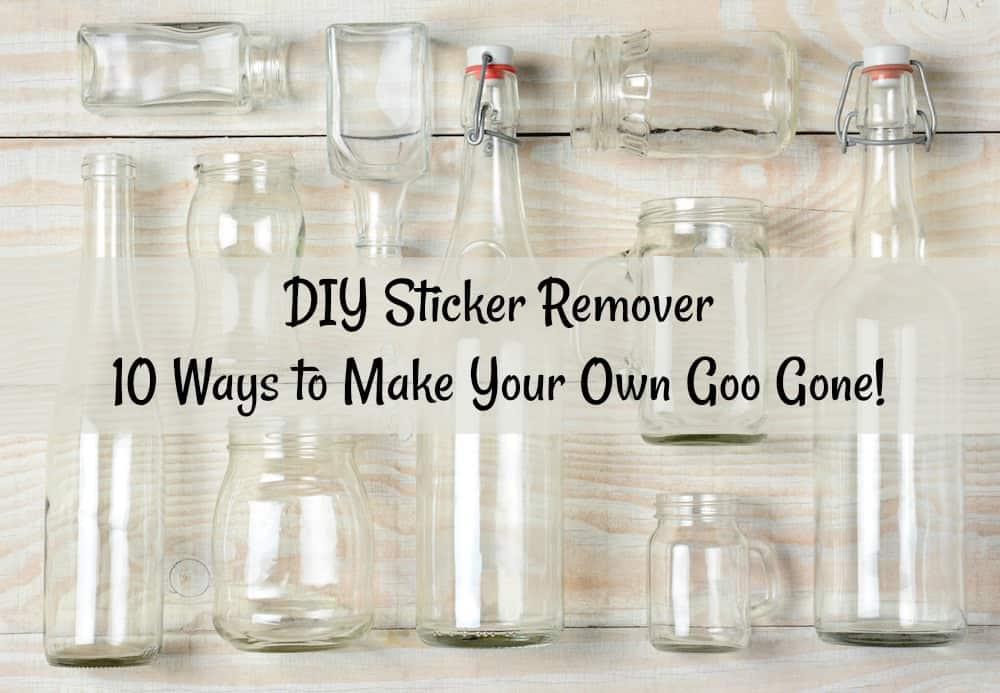 Do you want to make your own sticker remover? Here are ten options for making a non-toxic, DIY sticker remover. You likely have all the ingredients on hand!