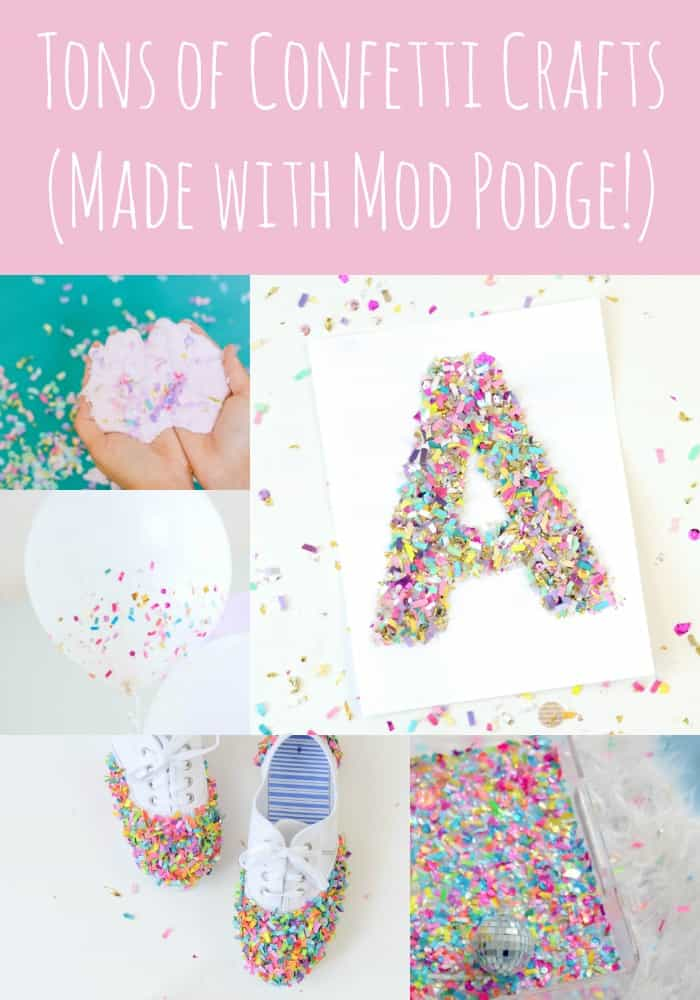 Confetti Crafts Archives Mod Podge Rocks
