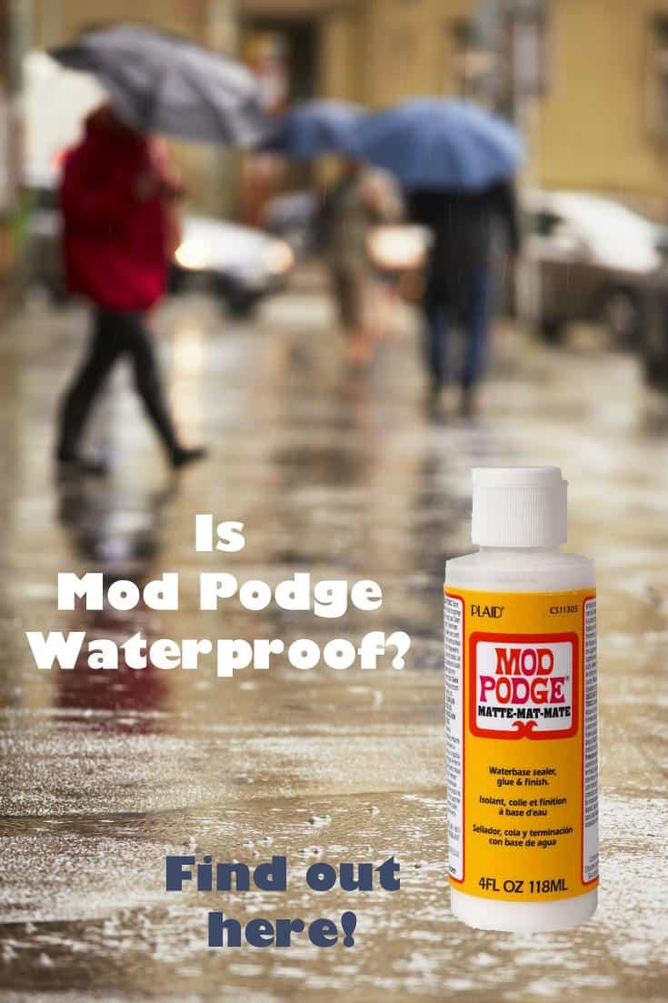 I run a Mod Podge blog and get asked all the time,