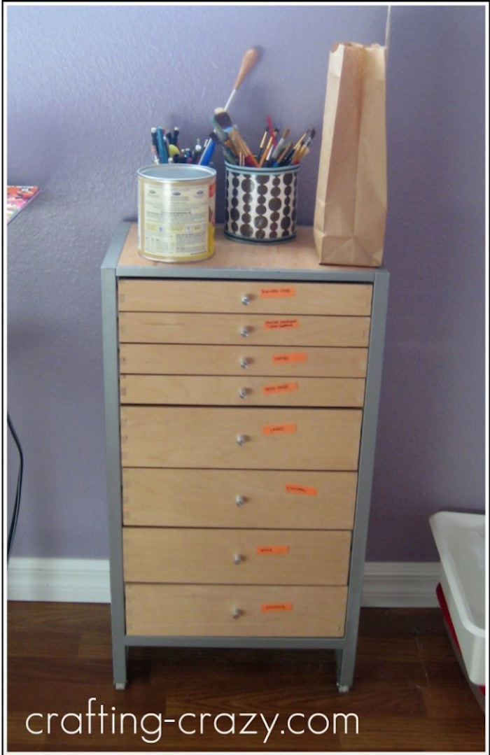 IKEA craft drawer organizer