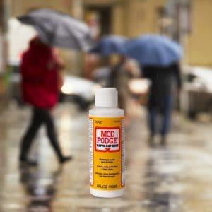 Is Mod Podge Waterproof?