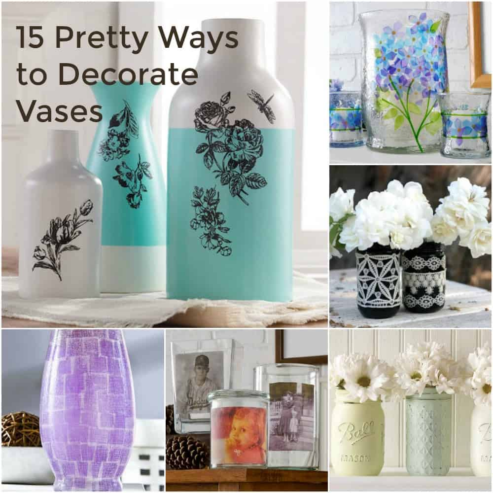 Attractive 15 Pretty Ways To Decorate A Vase