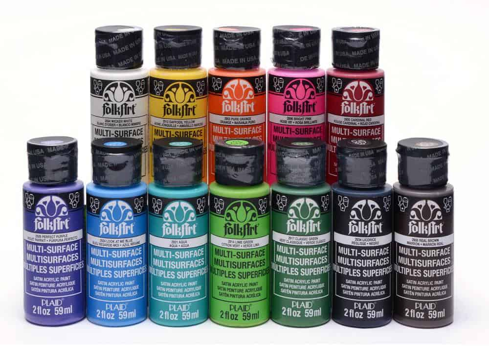 FortArt multisurface acrylic paint