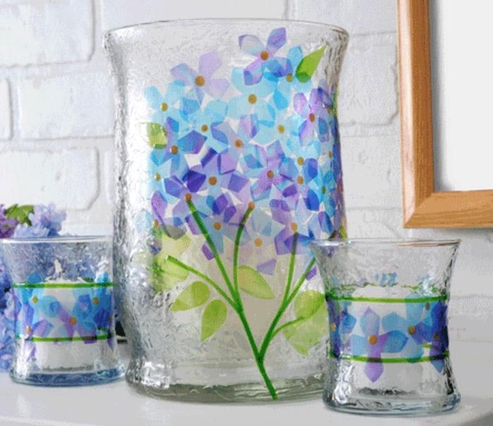 Gallery Glass Hydrangea Vase