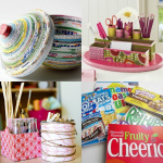 Mod Podge recycled crafts