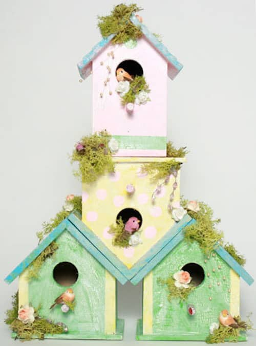 Luxury birdhouse condo craft
