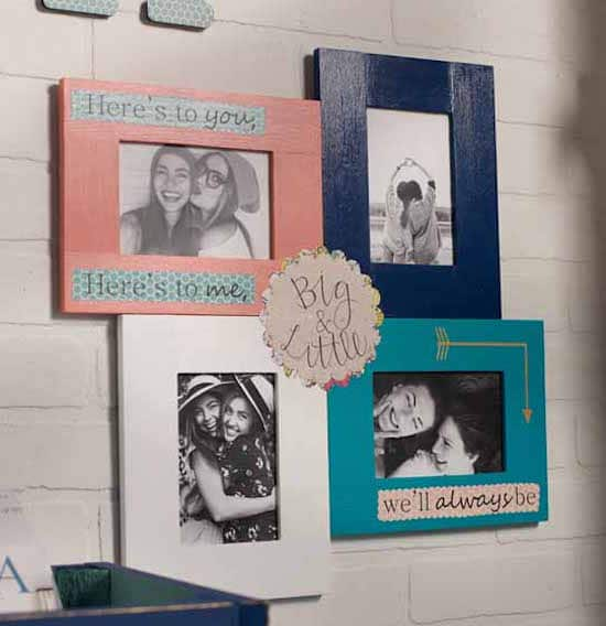 Cheap Frames From The Craft Store And Imagination: 15 Ways To Decorate Cheap Wooden Picture Frames