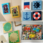 Mod Podge DIY wall art