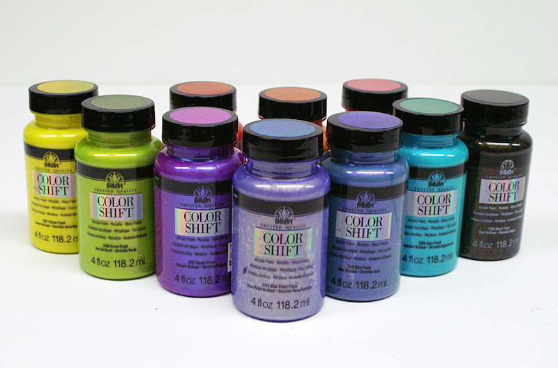 FolkArt Color Shift paints