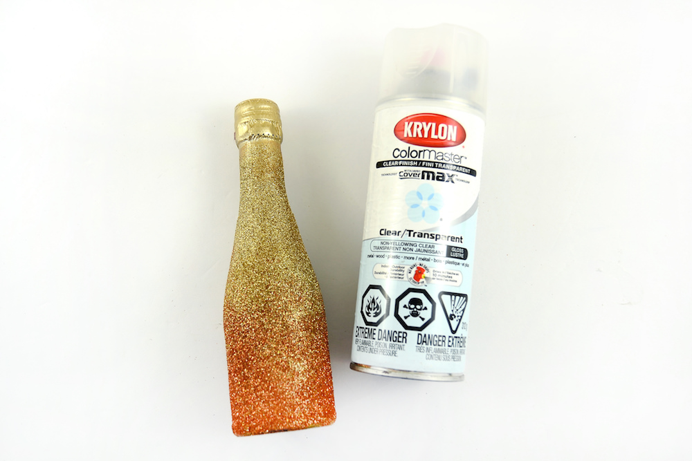 Glitter Mini Alcohol Bottles - for Party or Wedding