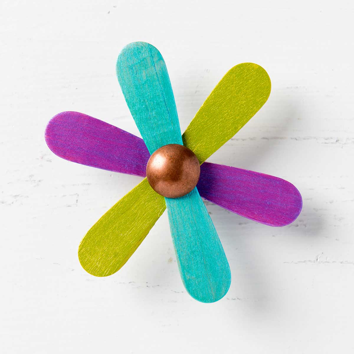 folkart color shift fidget spinner