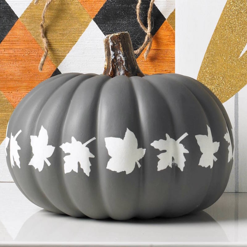 Elegant Matte Pumpkin painting ideas