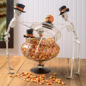 Halloween Skull Centerpiece Funny