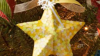 Glow in the Dark Star Ornament