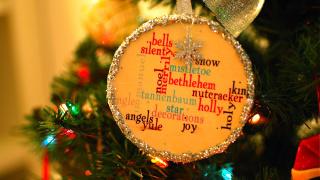 PB Knock Off: Glitzy Ornaments