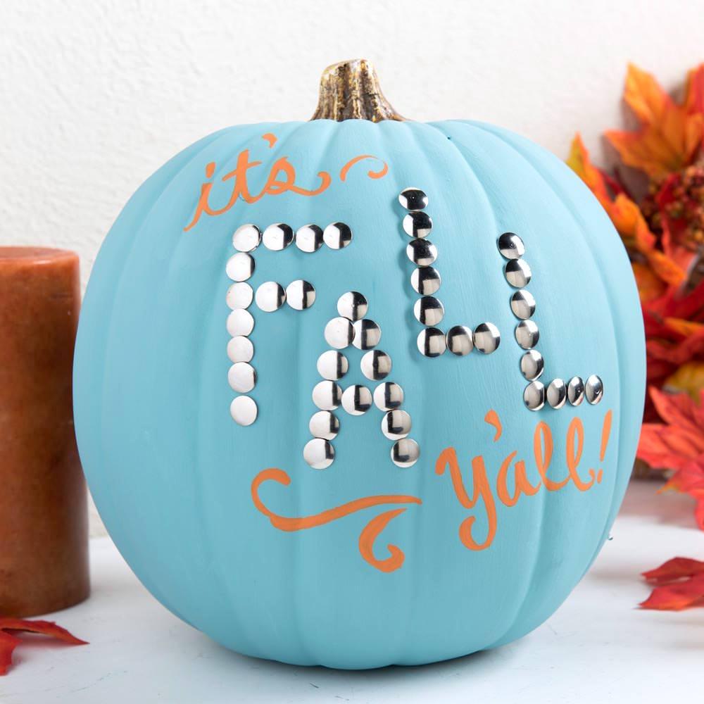 Pumpkin Decorating Idea for Fall