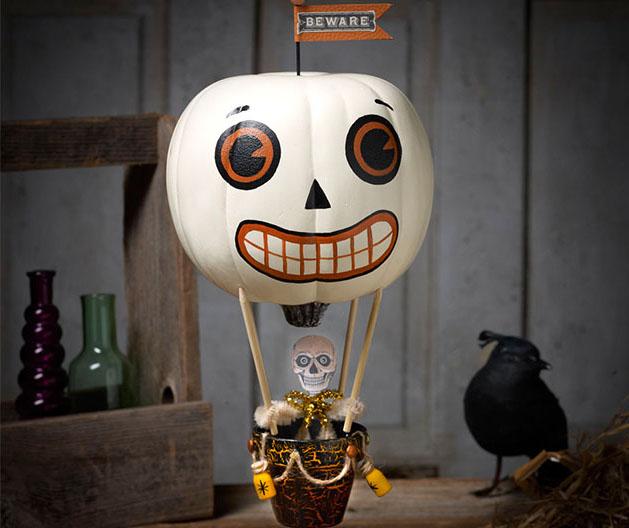 Spooky Sailings Pumpkin Balloon